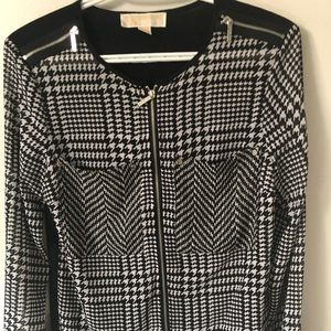 Michael Kors geometric shirt
